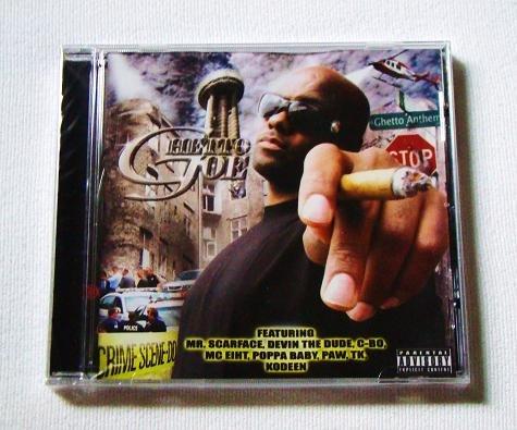Ghetto Joe - Ghetto Anthem (CD) [NEW] MC Eiht, C-Bo, Scarface