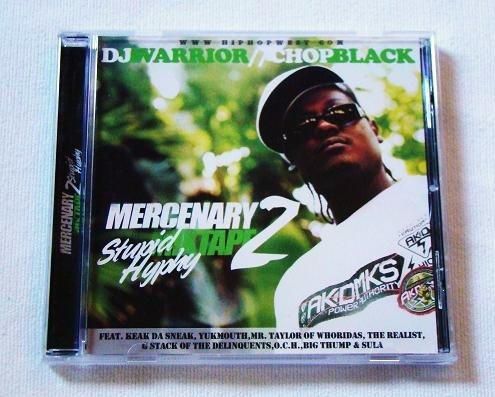 Chop Black of Whoridas - Stupid Hyphy (CD) Yukmouth, Tha Realest, Keak Da Sneak