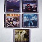 Bullet - 5 CD Collection [NEW] Rare, Out of Print, Seattle Rap - Baby Bash, Cool Nutz