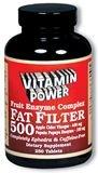 Vitamin  Power Fat Filter 500 - 100 Tabs - 5054R