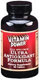 Ultra Antioxidant Formula - 30 Tabs. - 803H