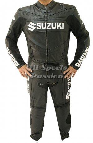 Suzuki Motorbike Leather Racing Suit ASP-7704