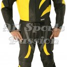Mens Skelton Motorbike Racing Leather Suit ASP-7720