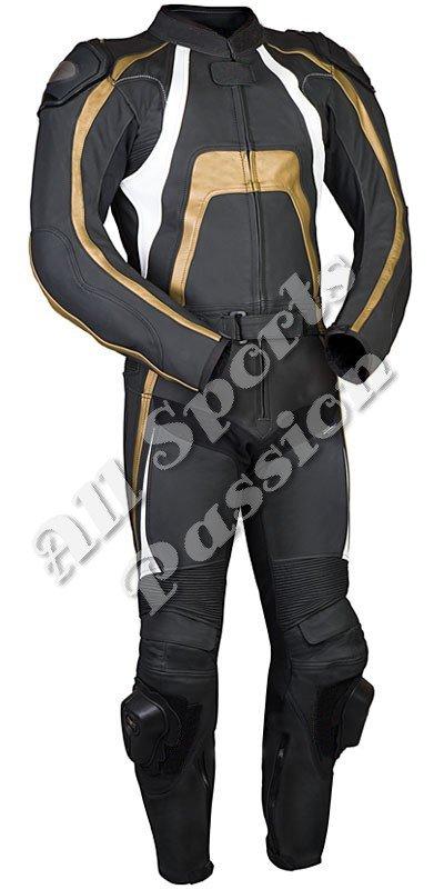 Custom Made Leather Motorbike Racing Suit ASP-7802