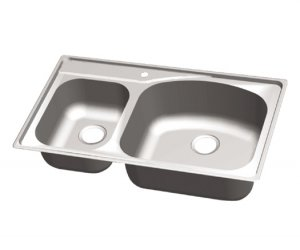 33&quot; Double Bowl Topmount (CHT 3322-79)