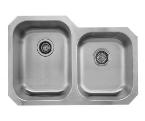 "31 5/16"" Double Bowl Undermount (GLU 3221-97)"