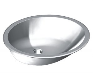 "19 1/8"" Single Bowl Lavatory Undermount/Topmount (JZU/T2017-7)"