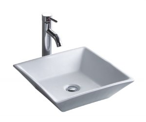 16-1/2&quot; White Above Counter China Lavatory (CSA1717-5)