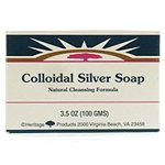 Heritage Store Bar Soaps Colloidal Silver 3 (3.5 oz.) count