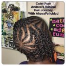 Classic Cornrows Natural Hair