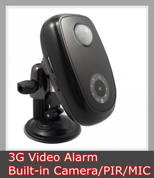 Wireless 3G Video Remote Home Security Alarm System - Built-in Camera (YL-3G-04)