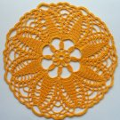 Mines doily yellow