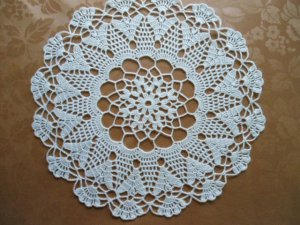 Beautiful Round Crochet doily