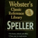 Webster's Speller Webster's Classic Reference Library (Paperback)