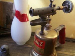 Vintage Otto Bernz Torch