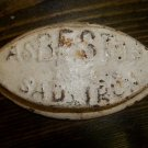 asBESTos Sad Iron