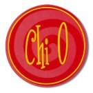 Chi Omega Bumper Sticker / Chi-O Vinyl Decal