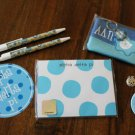 Alpha Delta Pi Gift lot little sis charm notepad button pens bumper sticker MORE