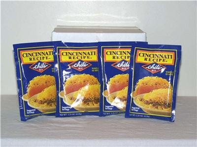 Cincinnati Recipe Chili Mix 4pk