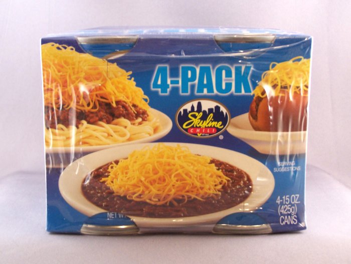 Cincinnati Skyline Chili 4 Large 15oz Cans A Favorite!