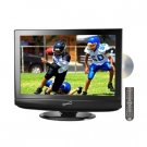 "Supersonic SC-225 22"" HD LCD TV with Built-in ATSC Digital TV Tuner, DVD Playe"