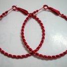 """HOT SALE $1.5 Red twist huge huggie hoop earring 5cm 2"""""""