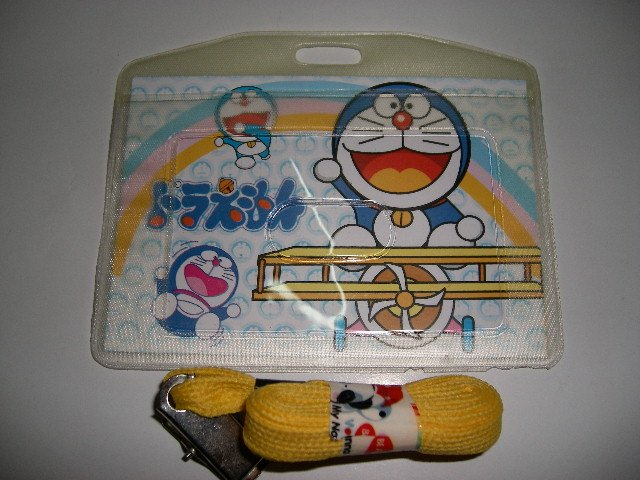 Doraemon school badge name badge