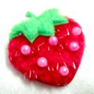 Kid's strawberry brooch