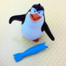 HK McDonald's Happy Meal Toy:2014 PENGUINS MADAGASCAR RICO FISH FLYER