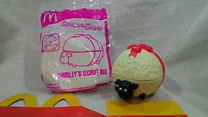 HK McDonald's Happy Meal Toy:2015 SHAUN THE SHEEP Shirley's secret box