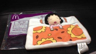 HK McDonald's Happy Meal Toy:2013 Chibi Maruko sleepy day 櫻��丸�