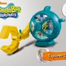 HK McDonald's Happy Meal Toy 2014 Nickelodeon squarepants explorer claw