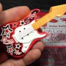 HK McDonald's Happy Meal Toy 2012 Beat Star Guitar Badge