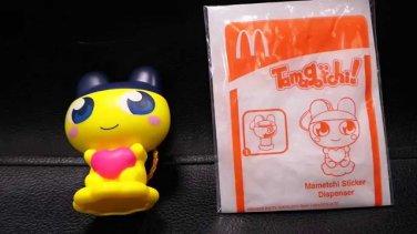 HK McDonald's Happy Meal Toy 2013 Bandai Japan Tamagotchi Mametchi Mametchl Sticker Dispenser