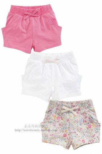 NWT NEXT baby girl infant summer pink white floral print short 3 pcs SET 3-6 mos