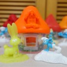 HK McDonald's Happy Meal Toy 2017 Smurfs the lost village Orange House Hefty & Bunny