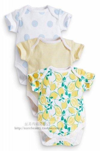 NEW UK NEXT Baby girl infant summer bodysuit 12-18 months 3 pcs set
