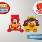 HK McDonald's Happy Meal Toy 2014 Ronald McDonald & Birdie Shoelace Buddies