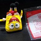 HK McDonald's Happy Meal Toy 2014 Nickelodeon plush spongebob squarepants