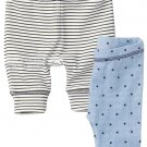 NWT NEXT Baby boy infant star legging size 0-3 months 2 PCS SET