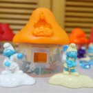HK McDonald's Happy Meal Toy 2017 Smurfs the lost village Light Orange House with Smurfs Friends