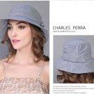 Blue Woman Summer Sun protection anti UV fishing fisherman hat