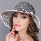 Woman Summer Sun protection anti UV fishing fisherman hat