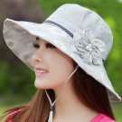 LT VIOLET Woman Summer WIDE BRIM Sun protection anti UV fishing fisherman hat