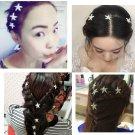 Fashion Wedding bridal rhinestone starfish hairpin 10pcs