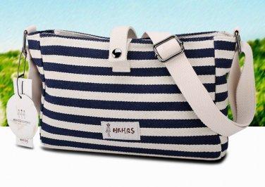 Zebra Canvas Tote Messenger Bag