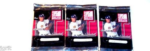 3 new 2001 DONRUSS ELITE baseball HOBBY PACK - sealed