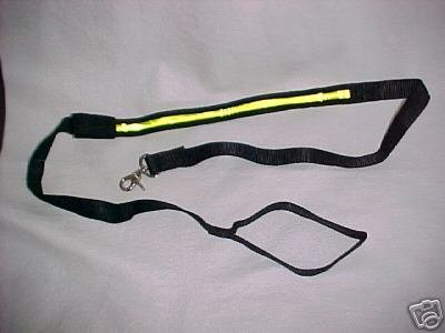 2 - TWO LEASHES New strong soft heavy lighted NIGHT dog