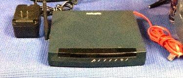 NETOPIA 3347 WG wireless DSL 4-port LAN ROUTER w/extras