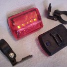 2 two New bicycle bike blinker LIGHT FLASHERs w/ 5 led